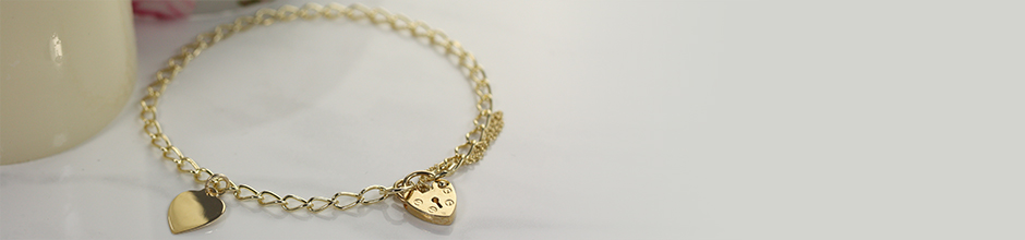 9ct Gold Charms and Charm Bracelets