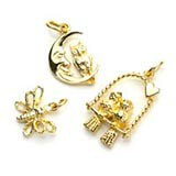 9ct Gold Charms for Bracelets