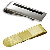 Sterling Silver & Gold Money Clips