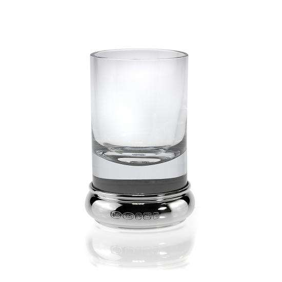 Sterling Silver Feature Hallmark Engravable Shot Glass