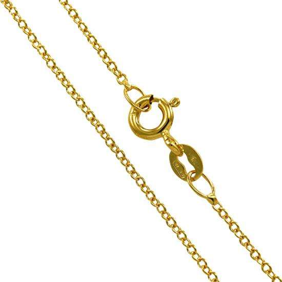9ct Yellow Gold Convertable Trace Chain