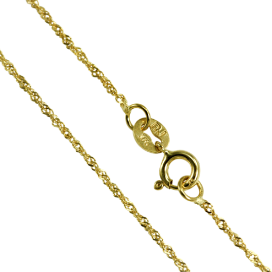 9ct Yellow Gold Singapore Chain