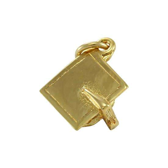 9ct Gold Graduation Mortarboard Charm