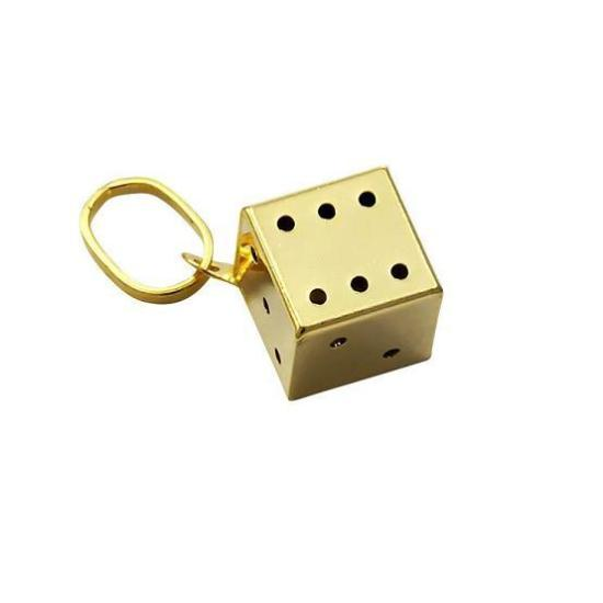 9ct Small Gold Dice Charm