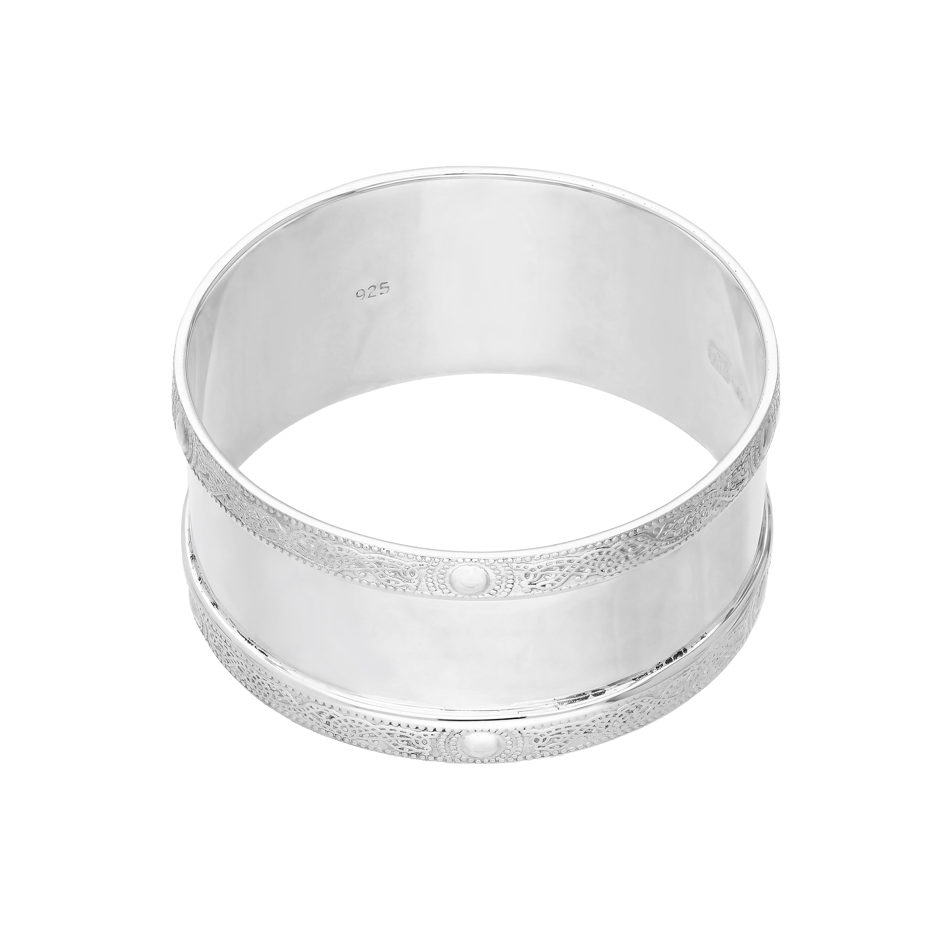 An image of Sterling Silver Celtic Napkin Ring