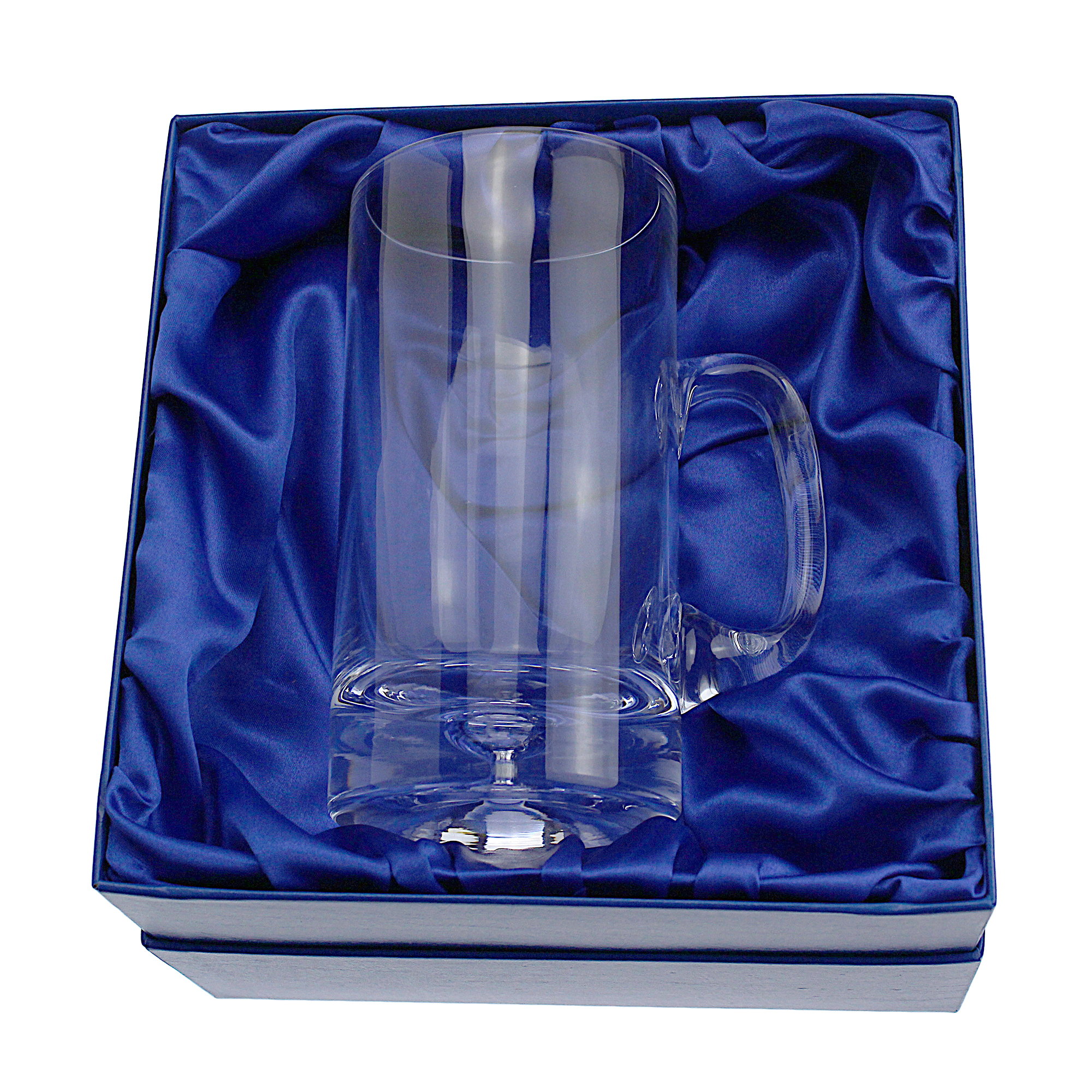 An image of Bubble Base 500ml Glass Tankard