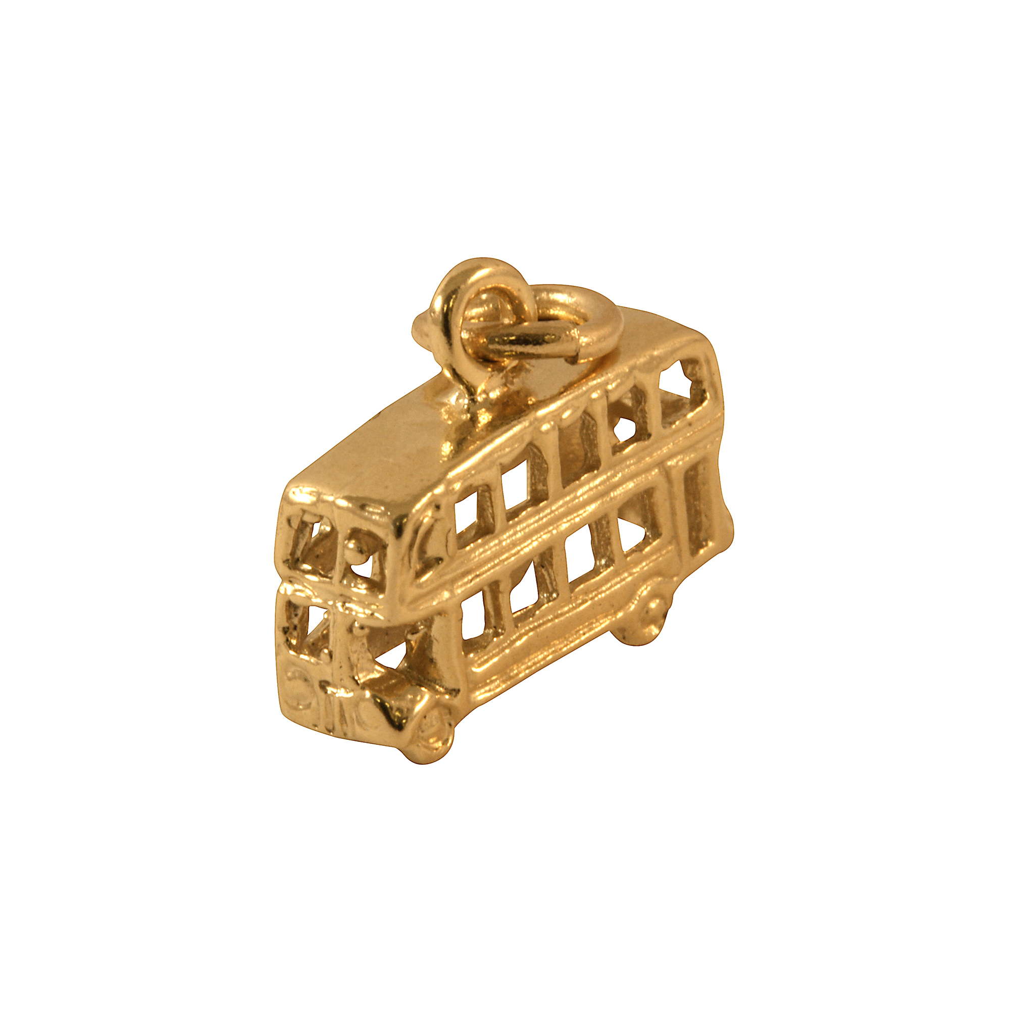 An image of 9ct Gold Routemaster Bus Charm