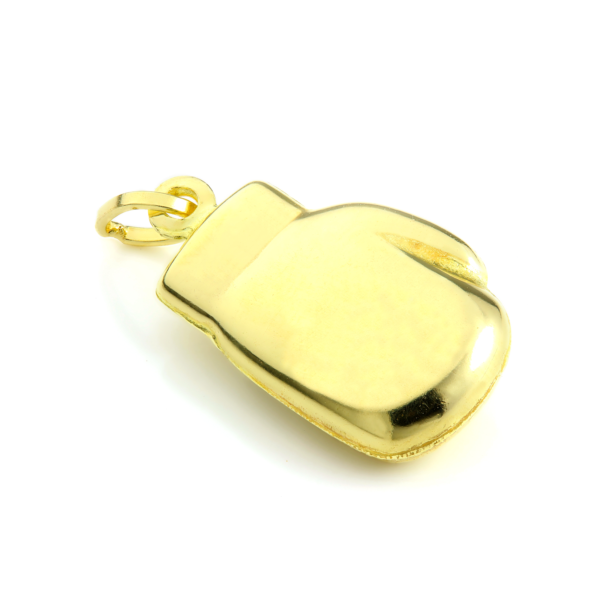 An image of 9ct Gold Hollow Boxing Glove Charm