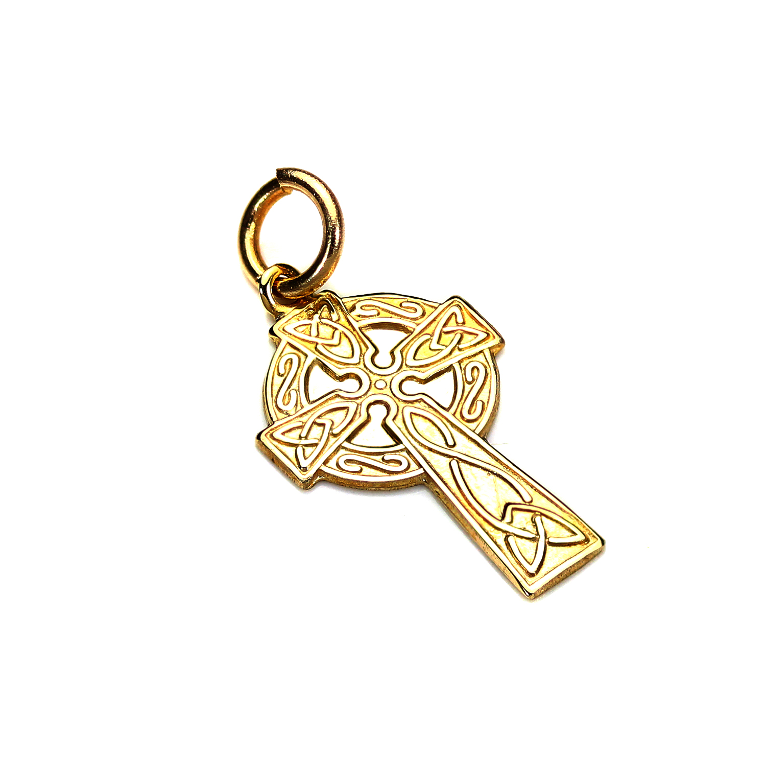 An image of 9ct Gold Celtic Cross Pendant