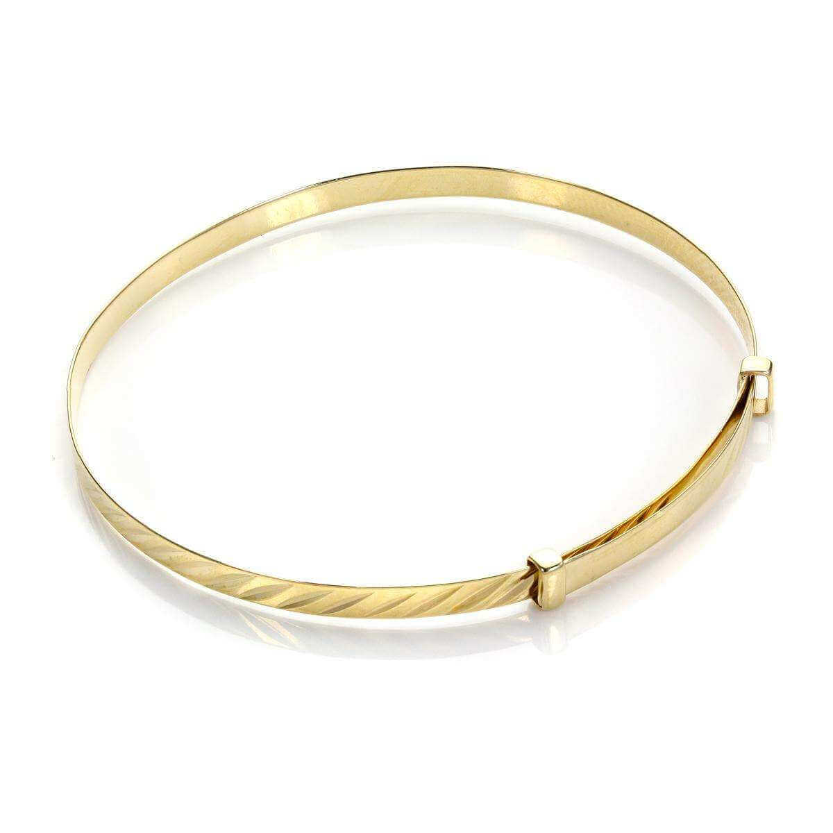 9ct Gold Expandale Baby Bangle