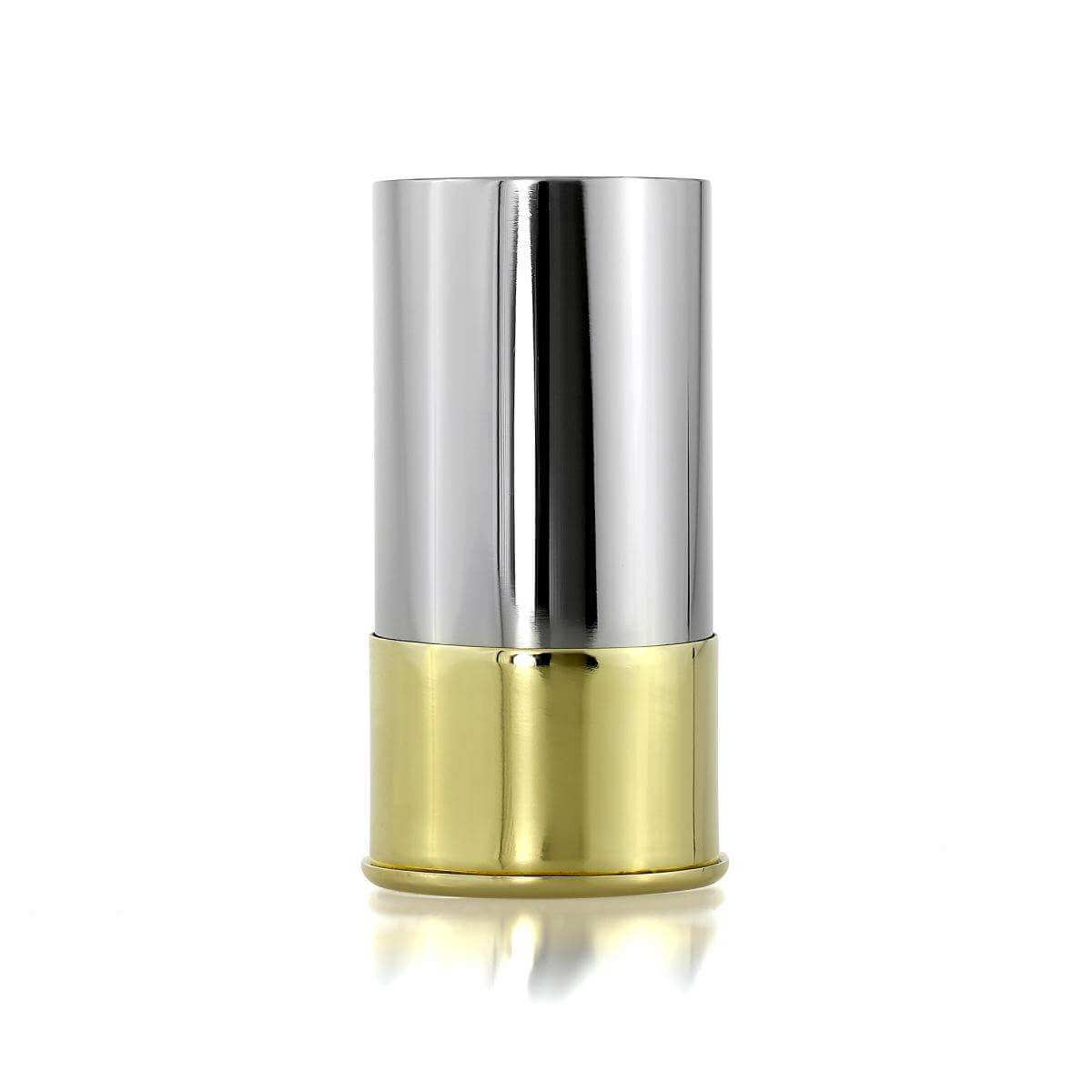 Engravable Stainless Steel Shot Gun Cartridge Spirit Measure