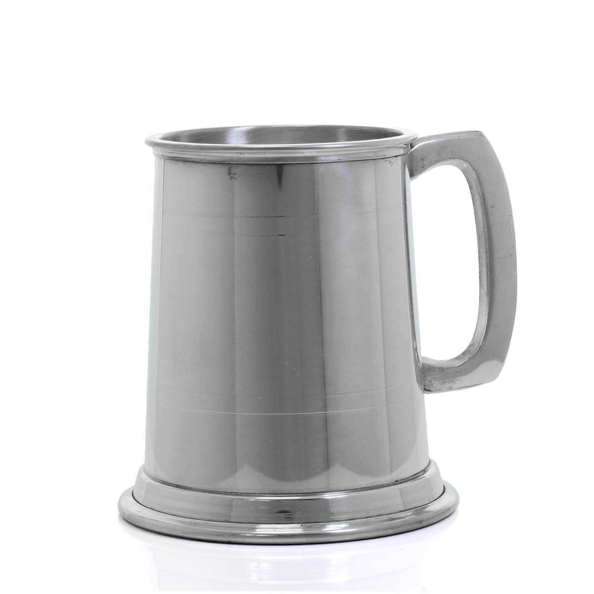 Commodore 1/2 Pint Engravable Pewter Tankard
