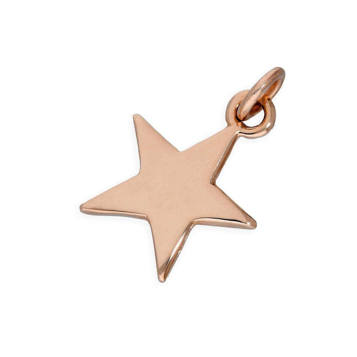 9ct Rose Gold Star Charm