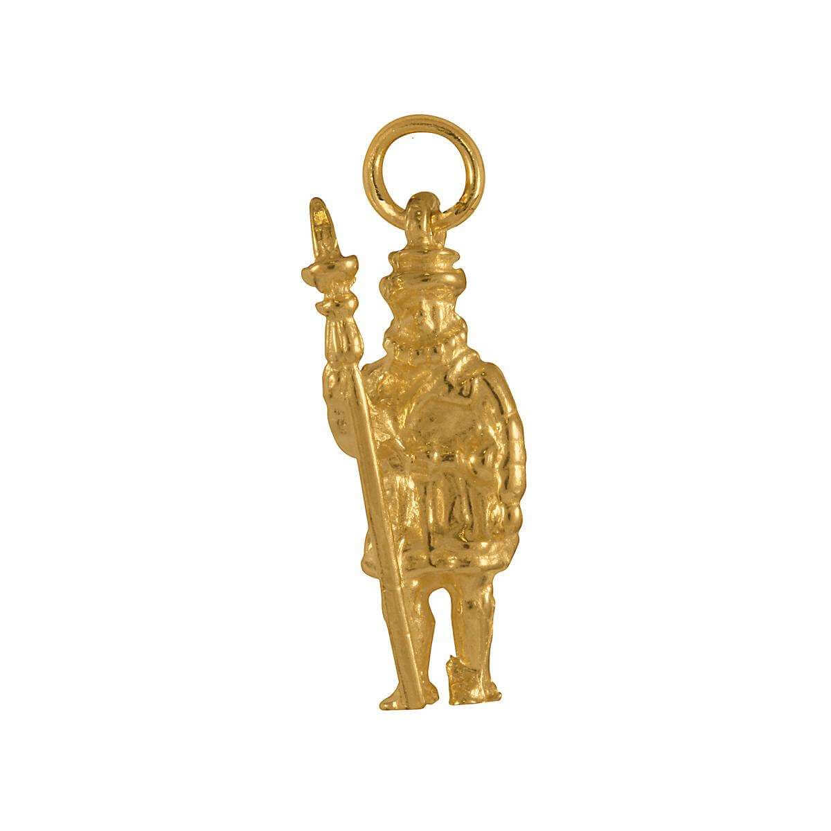 9ct Gold Beefeater Charm