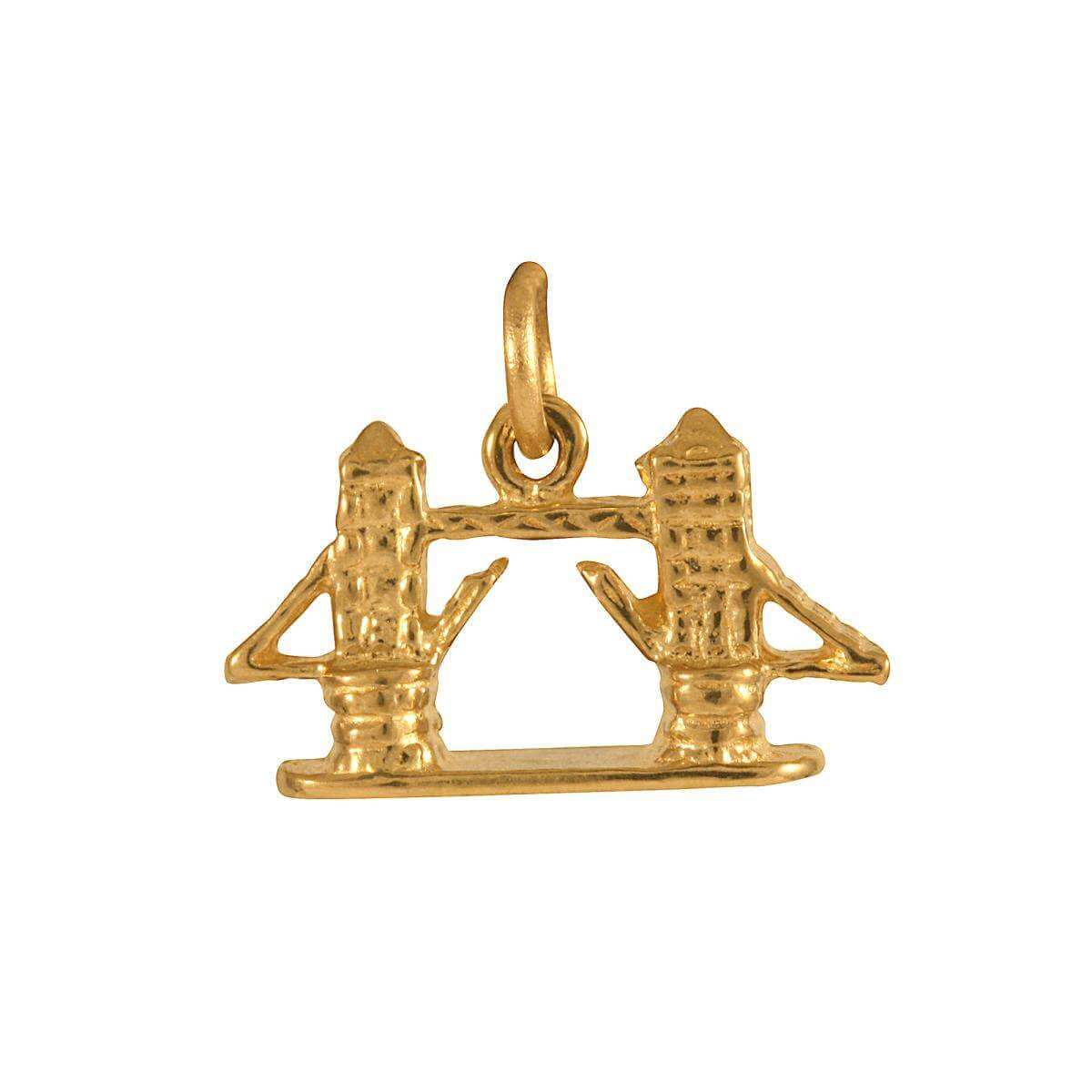9ct Gold Tower Bridge Charm
