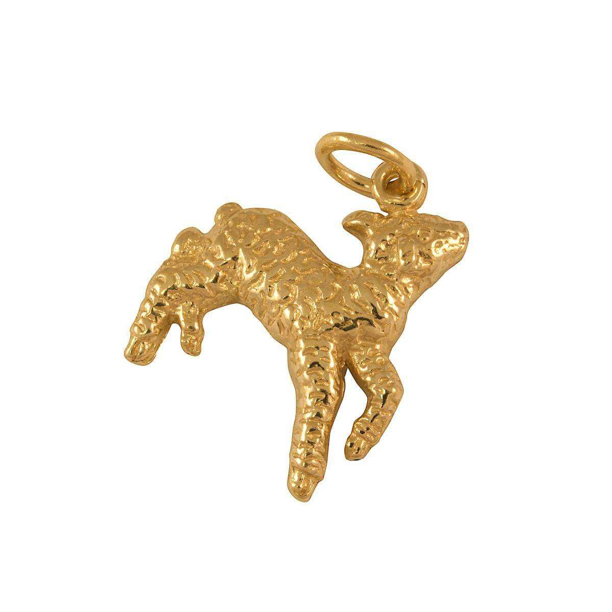 9ct Gold Lamb Charm