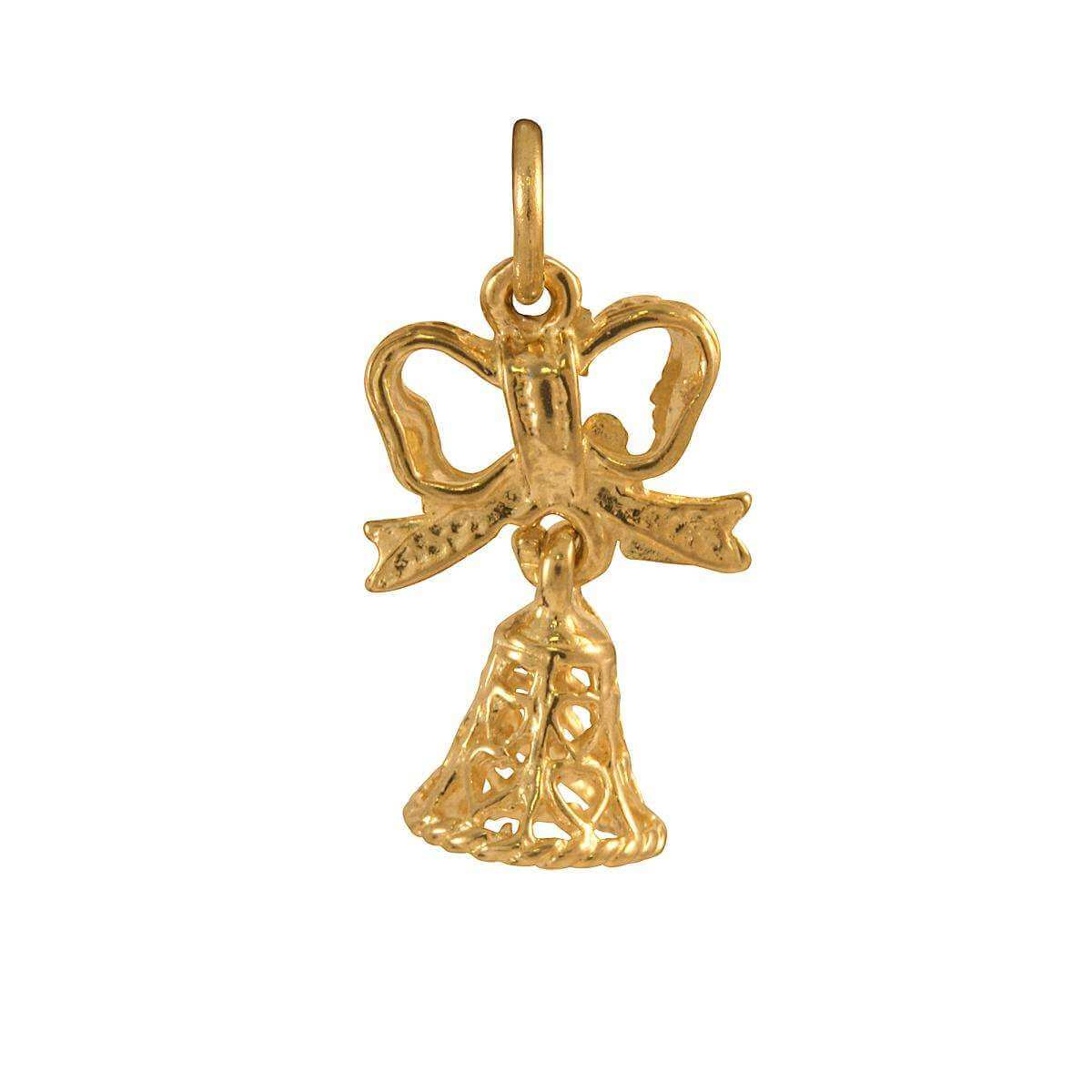 9ct Gold Bell Charm