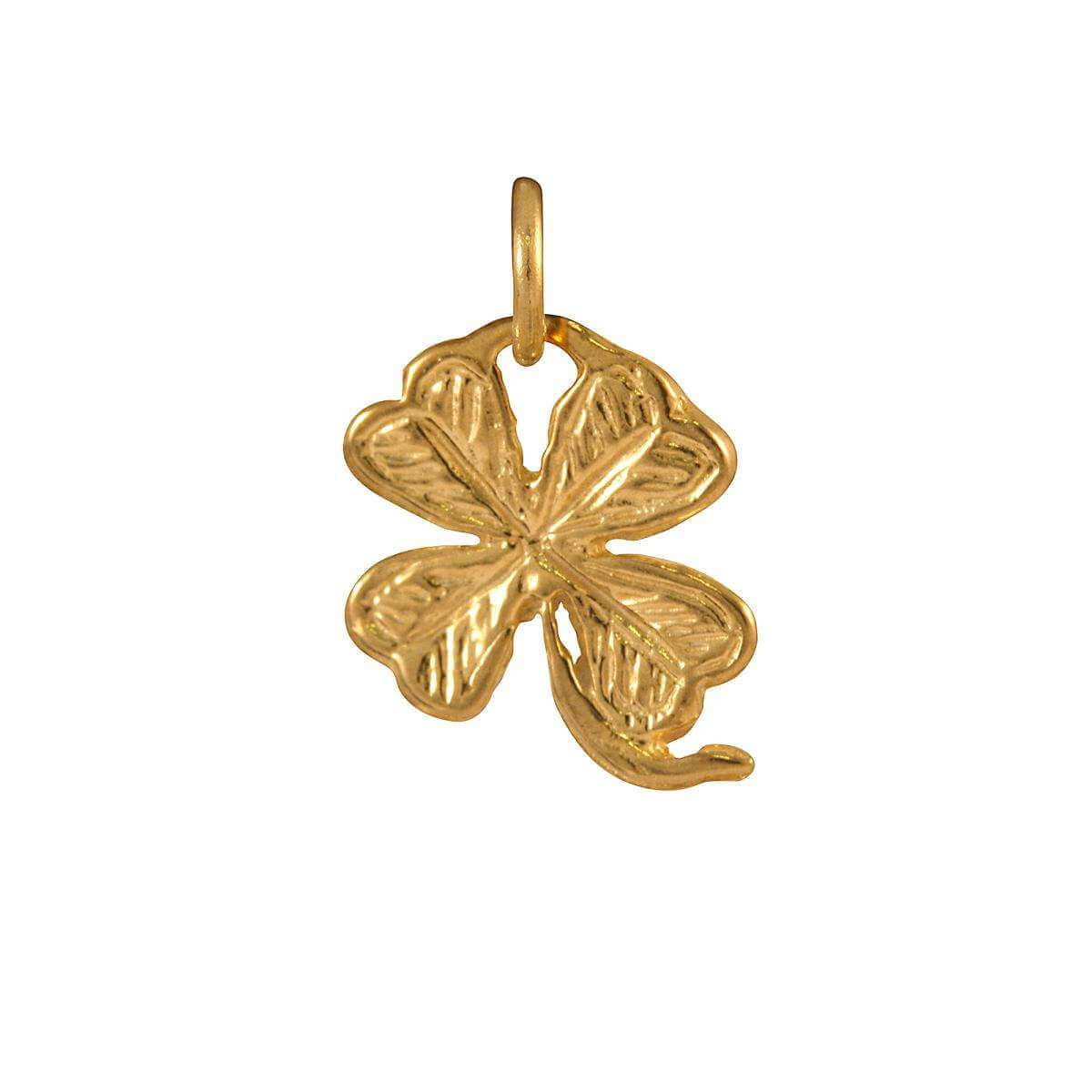 9ct Gold Lucky Clover Charm