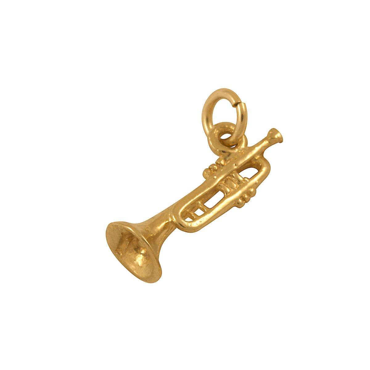 9ct Gold Trumpet Charm