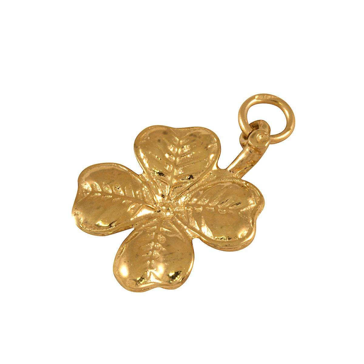 9ct Gold Clover Charm