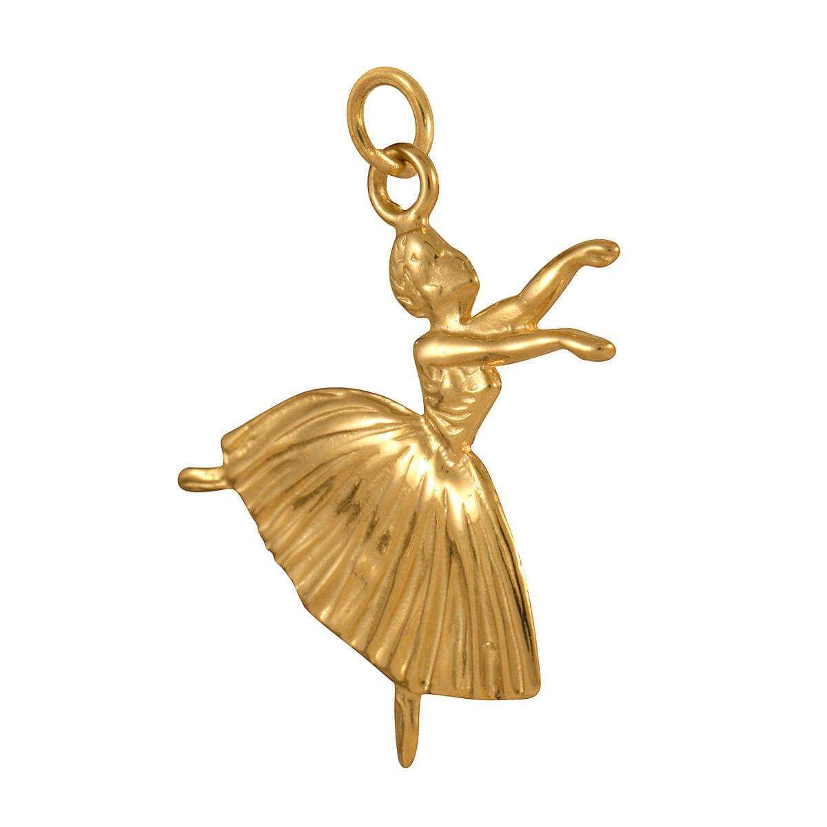 9ct Gold Dancer Charm