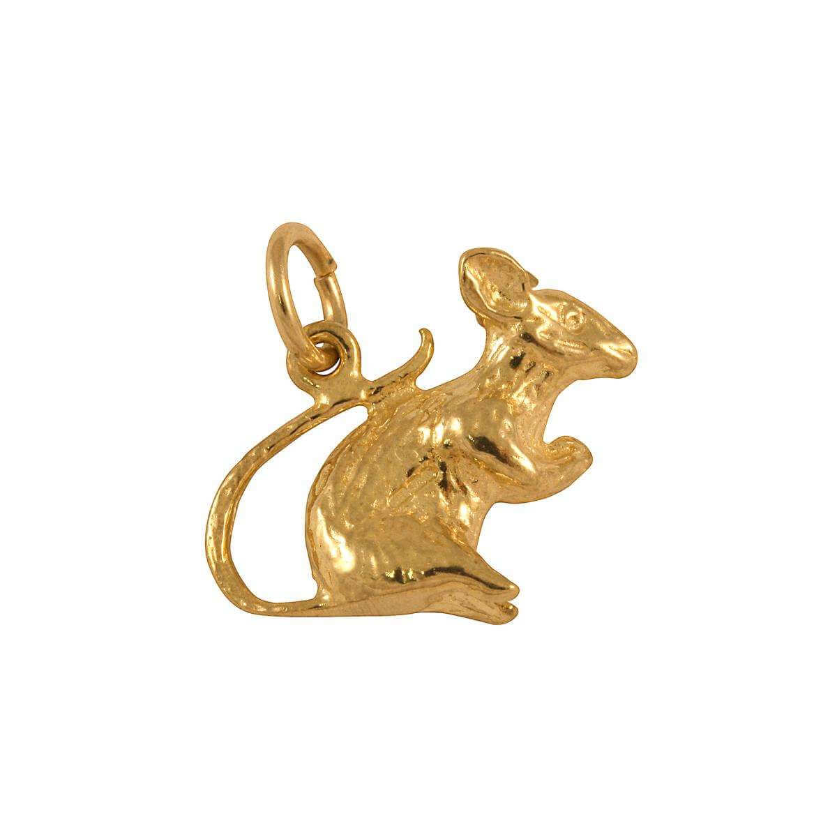 9ct Gold Mouse Charm