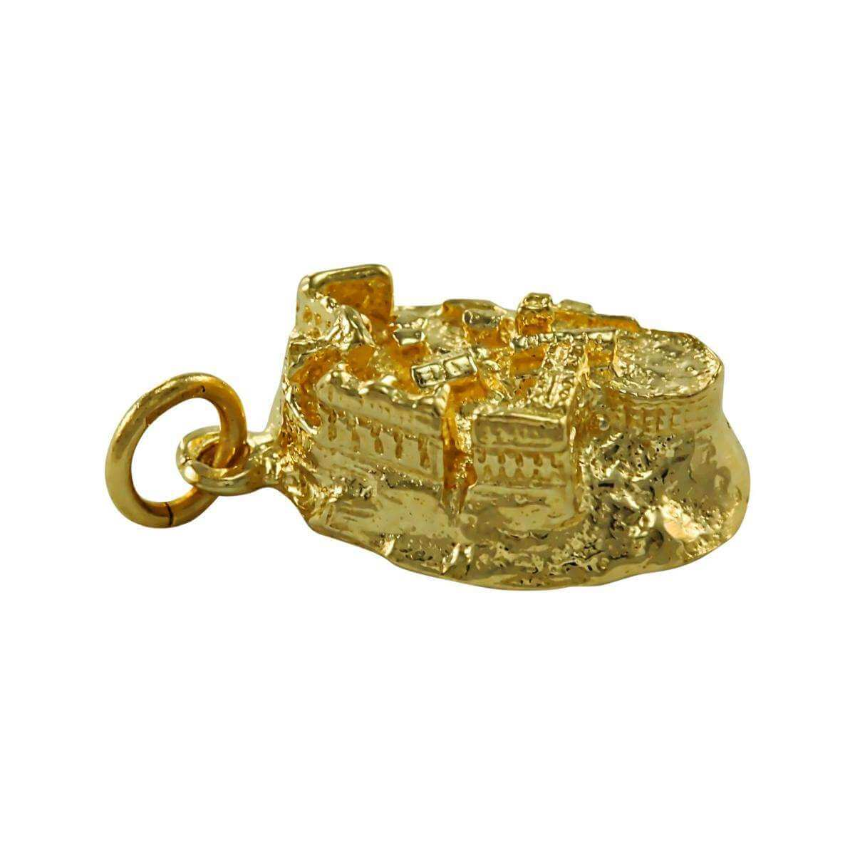 9ct Gold Edinburgh Castle Charm