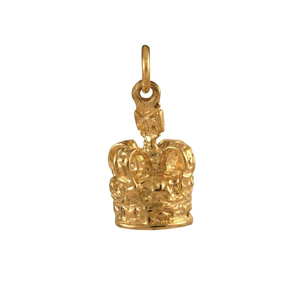 9ct Gold Crown Charm