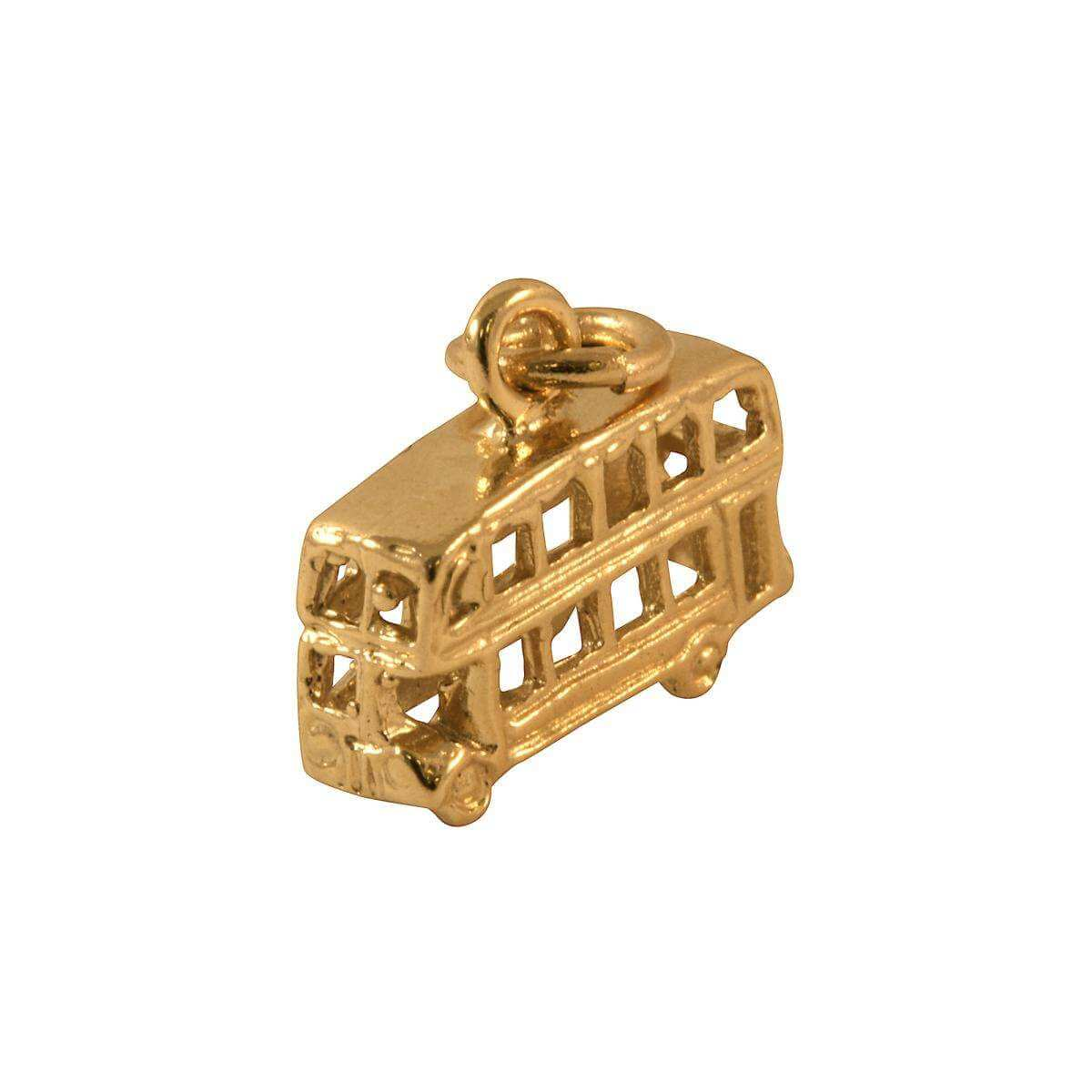 9ct Gold Routemaster Bus Charm