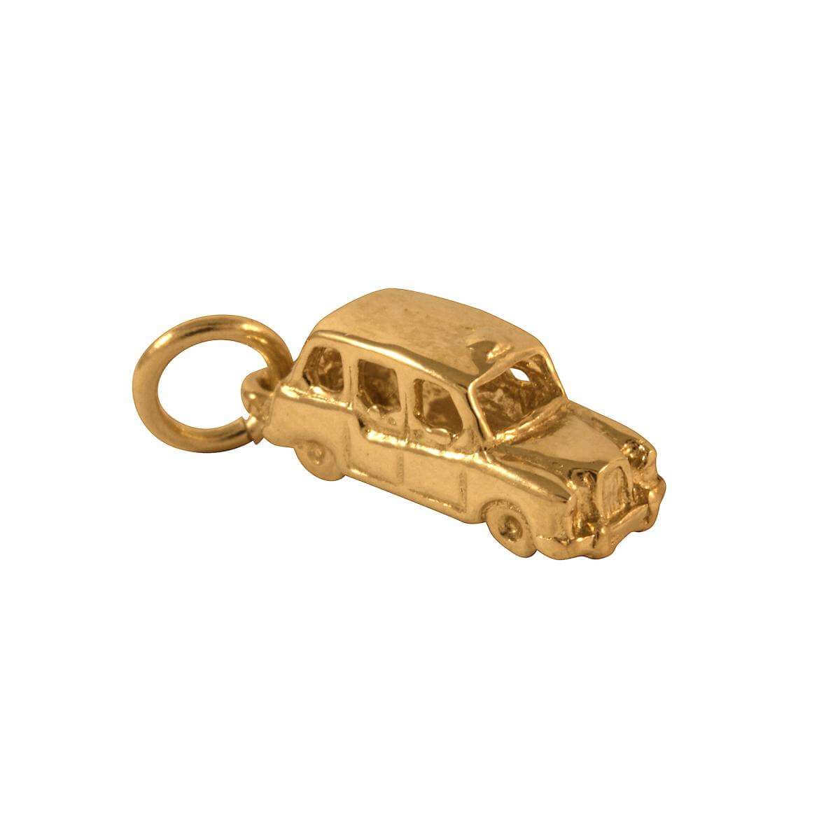 9ct Gold London Cab Charm