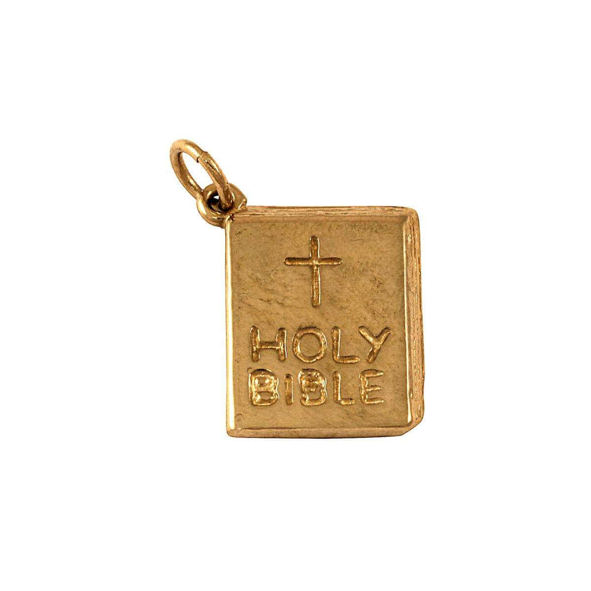 9ct Gold Bible Charm