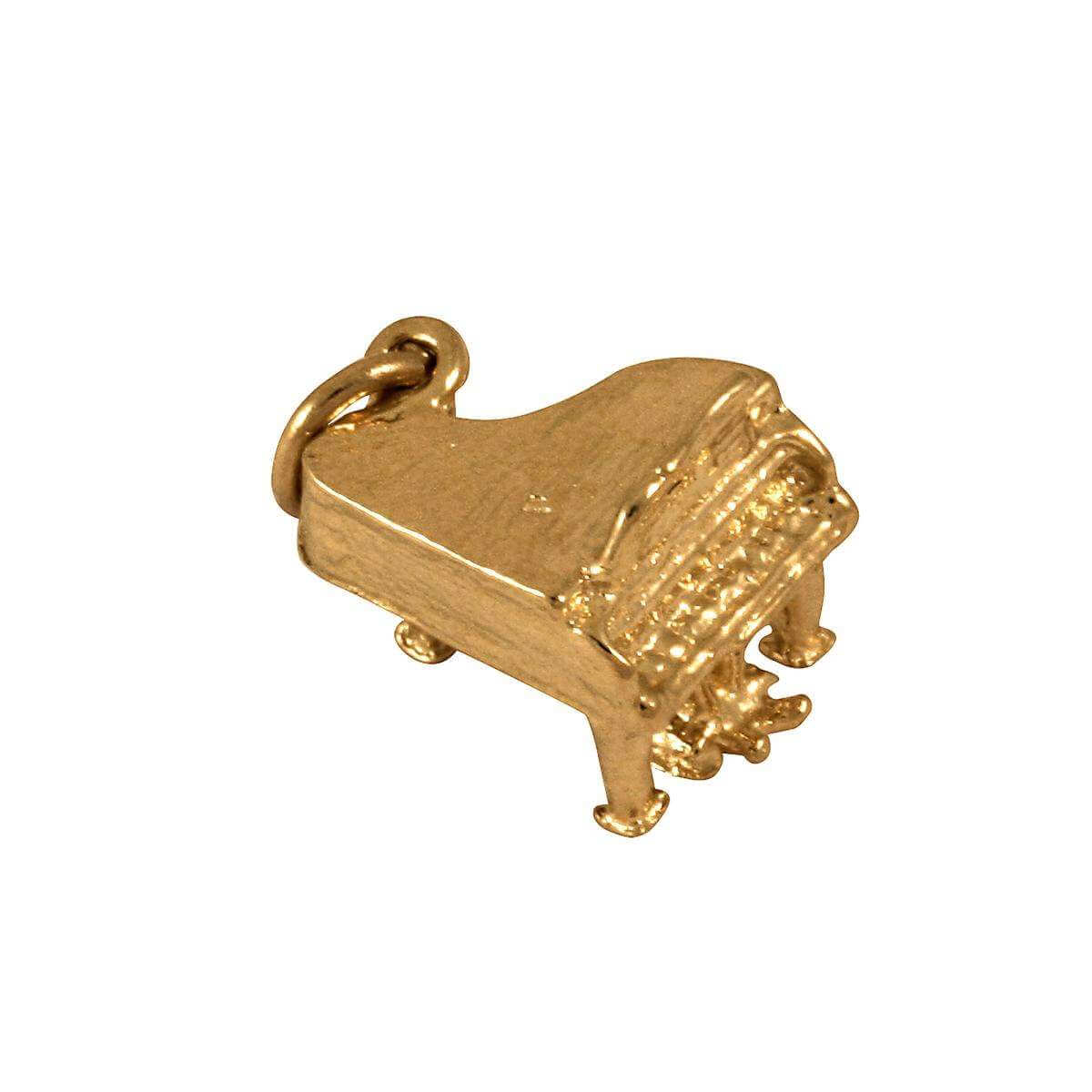 9ct Gold Piano Charm