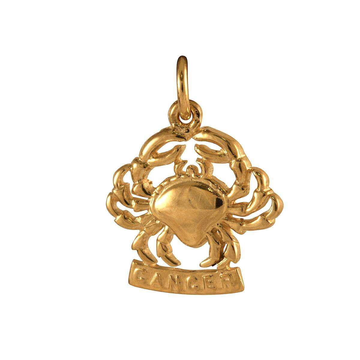 Sayers London 9ct Gold Cancer Crab Charm GDj7NY8vd