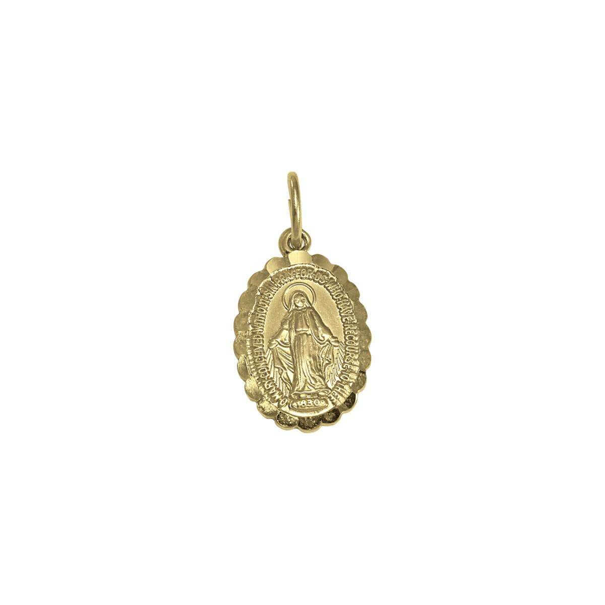 9ct Gold Miraculous Medal
